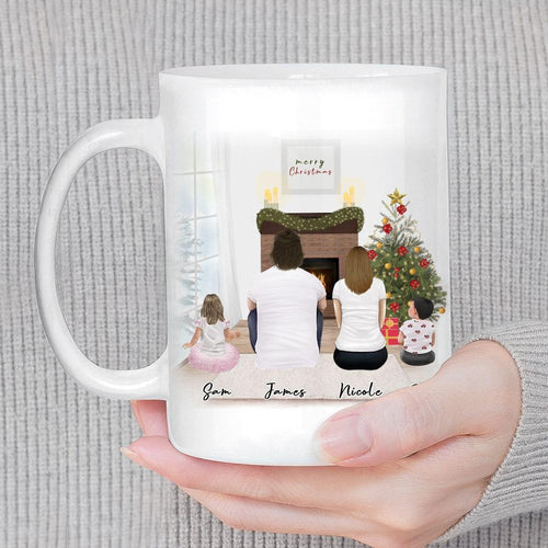 Christmas Scene Personalized Family Coffee Mug Mug Gooten