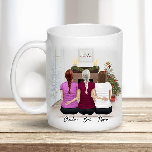 Christmas Scene Personalized Sister Best Friend Coffee Mugs Mug Gooten