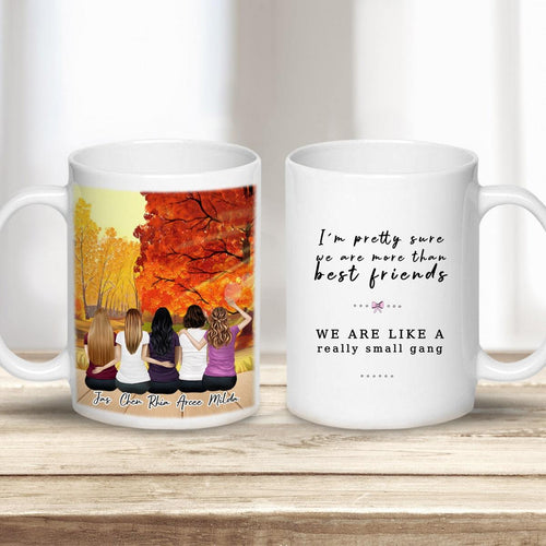 Fall Personalized Best Friend or Sister Coffee Mugs Mug Gooten