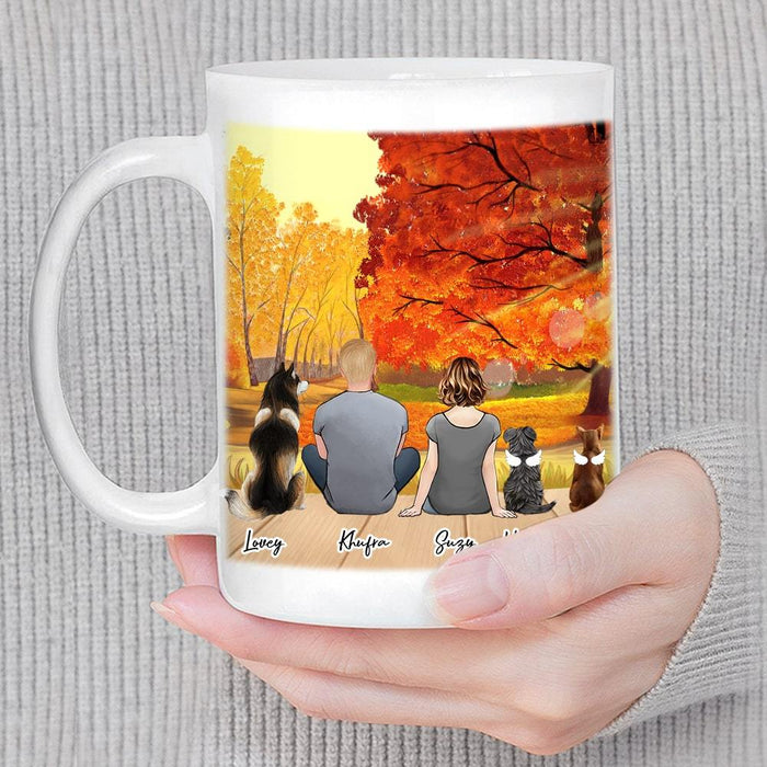 Fall Personalized Pet Coffee Mug Mug Gooten