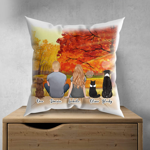 Fall Personalized Pet Pillow Gooten