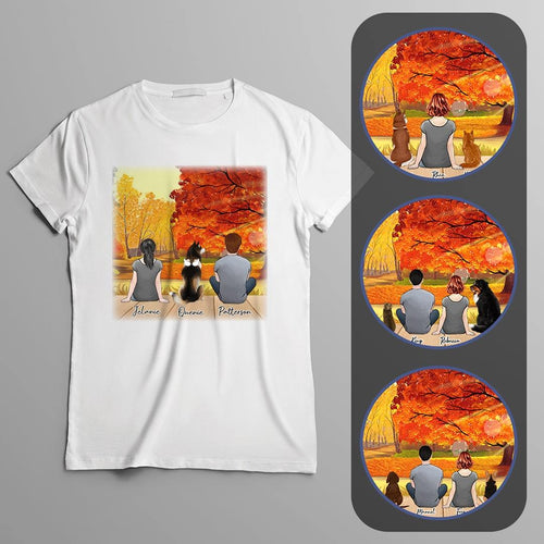 Fall Personalized Pet T-Shirt Gooten