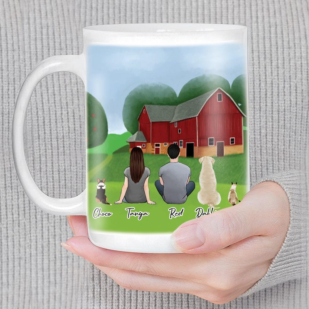 Farm Custom Printed Pet & Owner Coffee Mug Mug Gooten