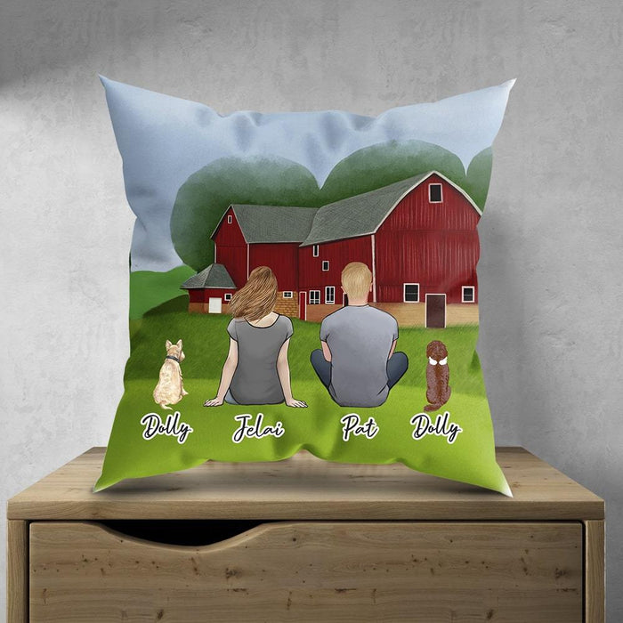 Farm Personalized Pet & Owner Pillow Gooten