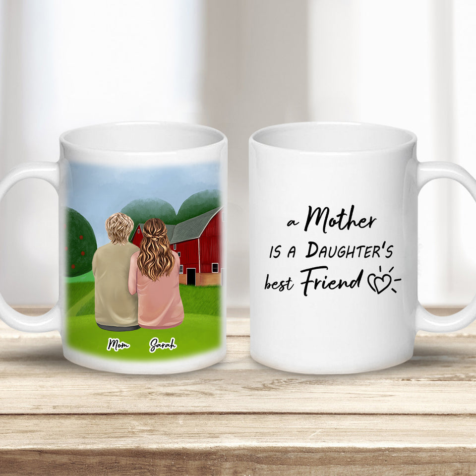 Farm Personalized Mothers Day Coffee Mug