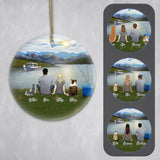Fishing Ornament - Personalized Pet & Owner Ornament Gooten