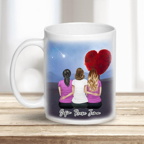 Heart Tree Personalized Best Friend Sister Coffee Mugs Mug Gooten