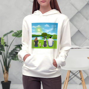 St. Patrick Personalized Pet & Owner Hoodies