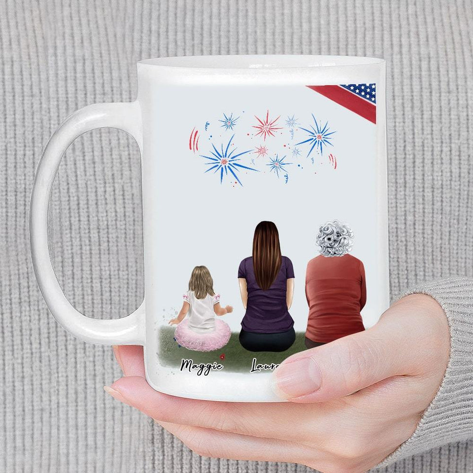 July 4th Personalized Family Coffee Mug Mug Gooten