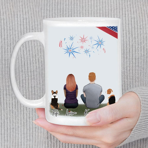 July 4th Personalized Pet & Owner Coffee Mug Mug Gooten
