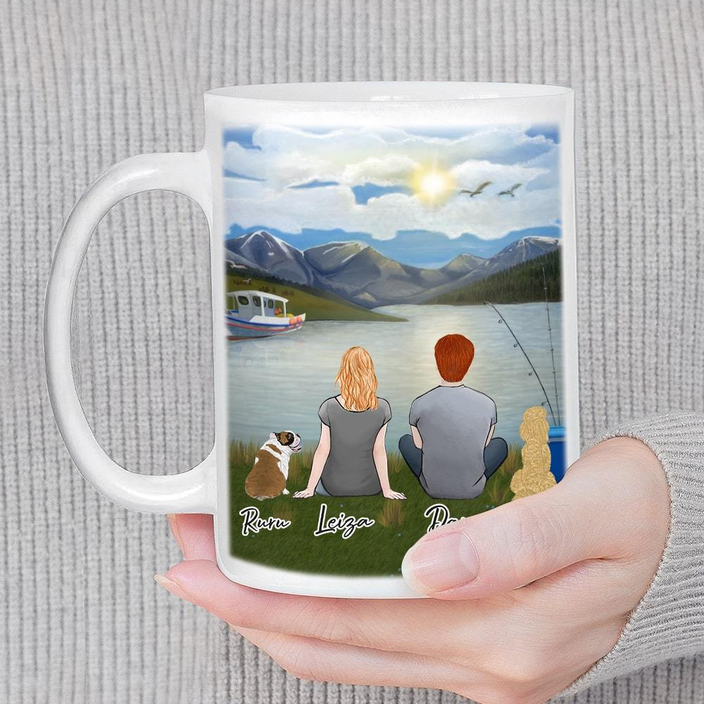 Lake & Mountain Personalized Coffee Mugs Mug Gooten