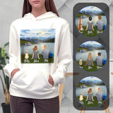 Lake & Mountain Personalized Hoodies Gooten