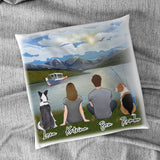 Lake & Mountain Personalized Pillow Gooten