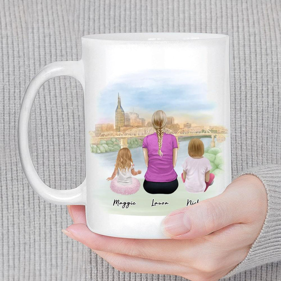 Nashville Personalized Family Coffee Mug Mug Gooten