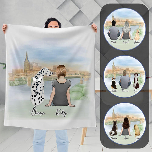 Nashville Personalized Pet & Owner Blanket Blanket Gooten