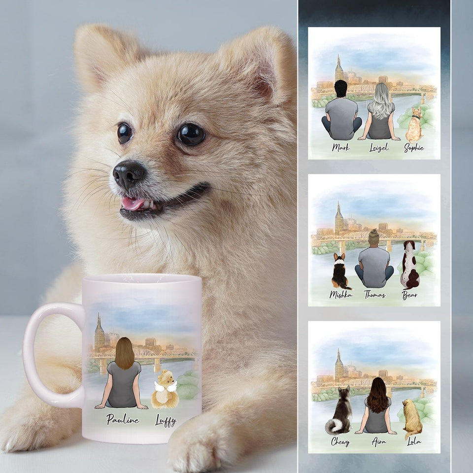 Nashville Personalized Pet & Owner Coffee Mug Mug Gooten