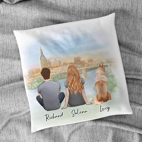 Nashville Personalized Pet & Owner Pillow Gooten