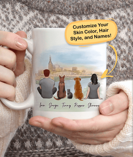 Nashville Strong - Personalized Coffee Mugs Mug LuluFam