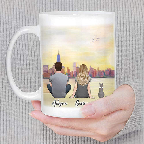 NYC Custom Printed Pet & Owner Coffee Mug Mug Gooten