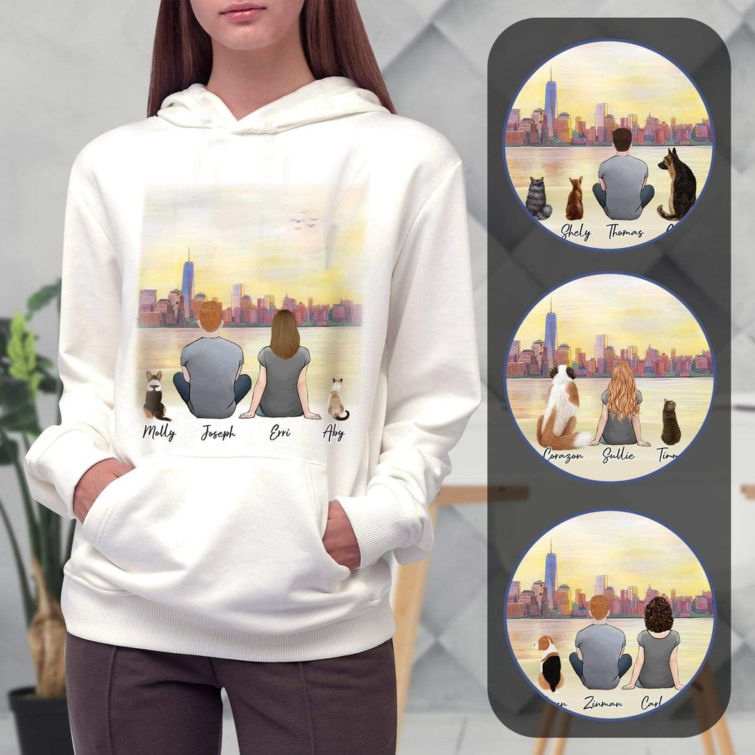 NYC Personalized Pet & Owner Hoodies Gooten