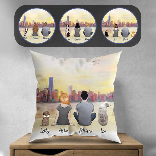 NYC Personalized Pet & Owner Pillow Gooten