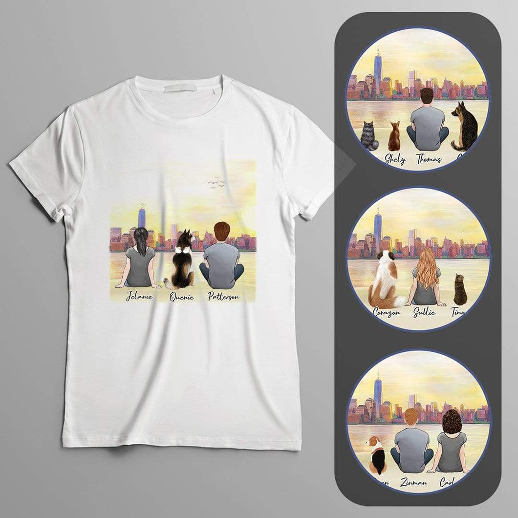 NYC Personalized Pet & Owner T-Shirt Gooten