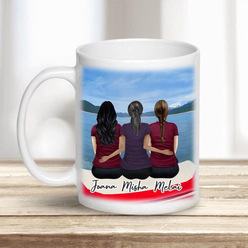 On a Boat Personalized Best Friend Sister Coffee Mugs Mug Gooten