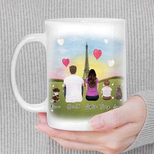 Paris Personalized Family Coffee Mug Mug Gooten