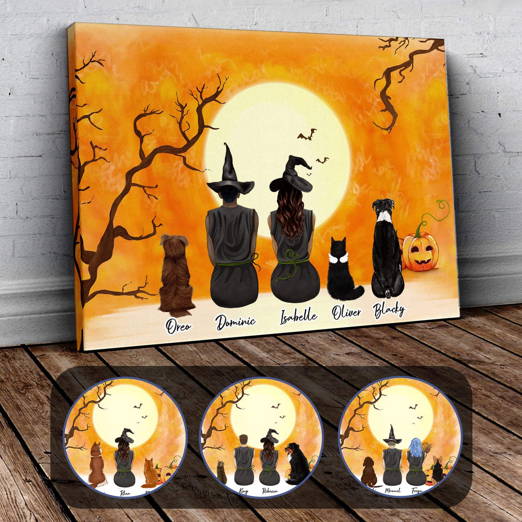 Personalized Halloween Wrapped Canvas Wrapped Canvas Gooten