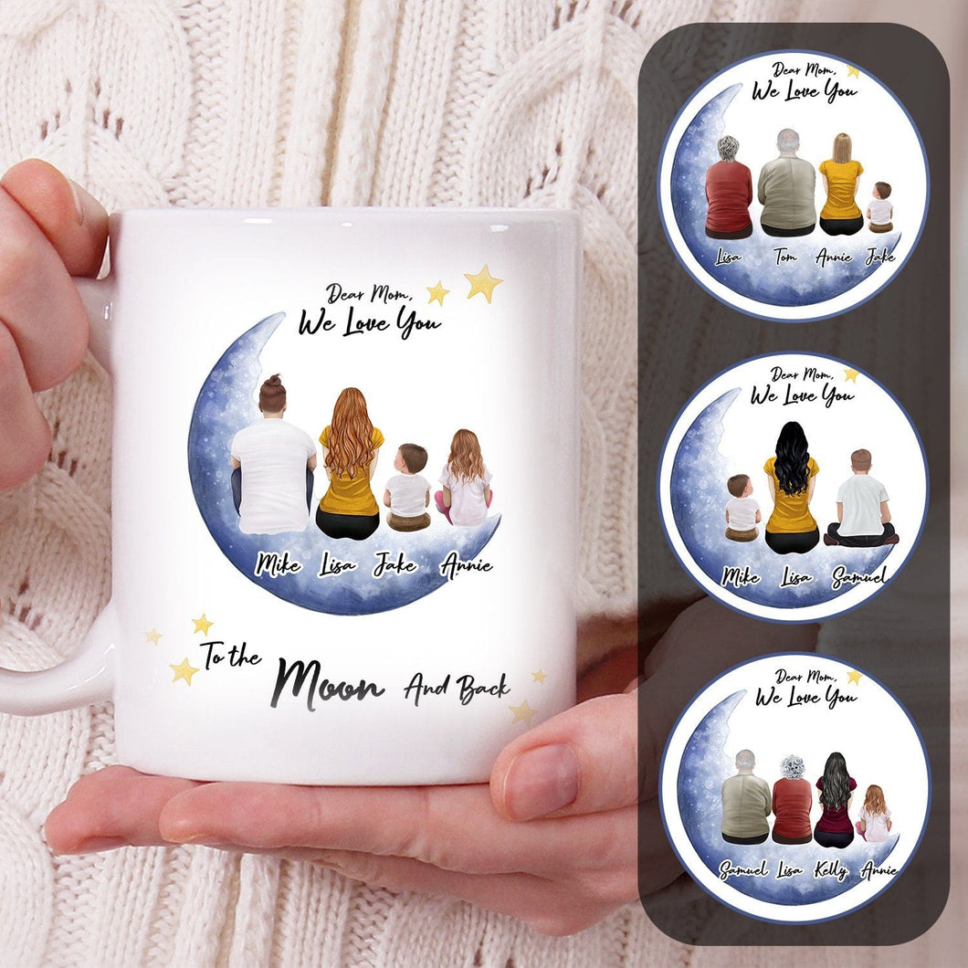Personalized To The Moon And Back Coffee Mug Mug Gooten