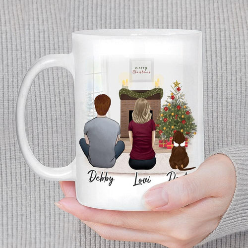 Pet & Owner Christmas Coffee Mug - Personalized and Custom Printed Mug Gooten