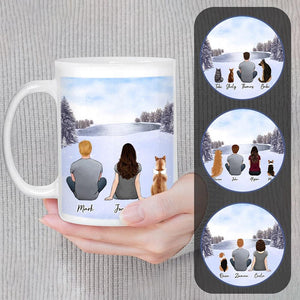Snow Custom Pet & Owner Coffee Mug Mug Gooten