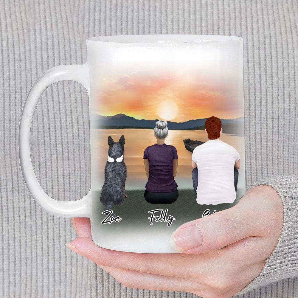 Sunset Personalized Pet & Owner Coffee Mug Mug Gooten