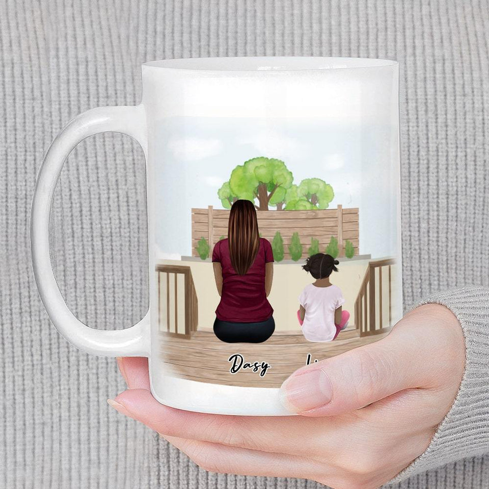 The Backyard Personalized Family Coffee Mug Mug Gooten