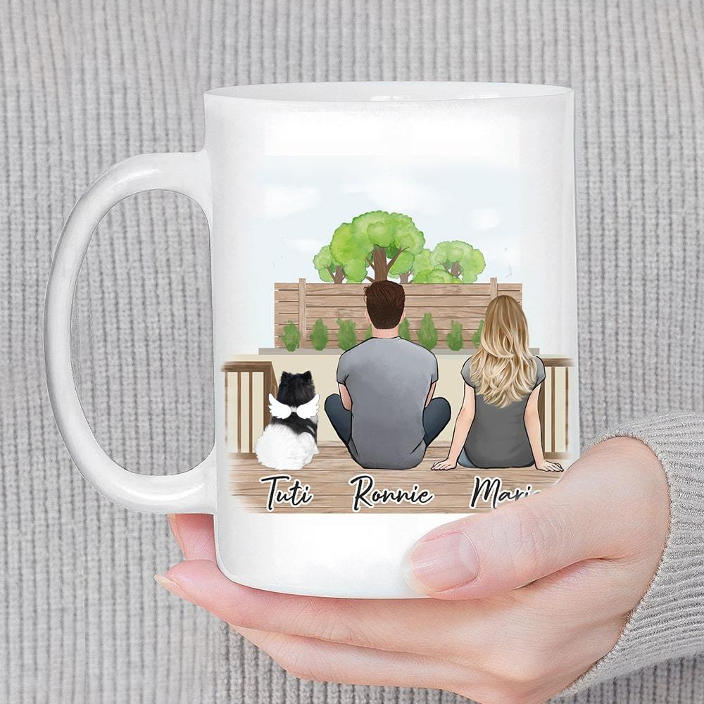 The Backyard Personalized Pet & Owner Coffee Mug Mug Gooten