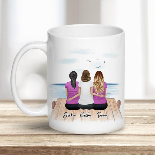 The Dock Personalized Best Friend (or Sisters) Coffee Mugs Mug Gooten