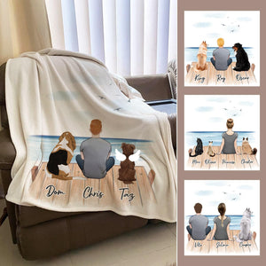 The Dock Personalized Pet & Owner Blanket Blanket Gooten