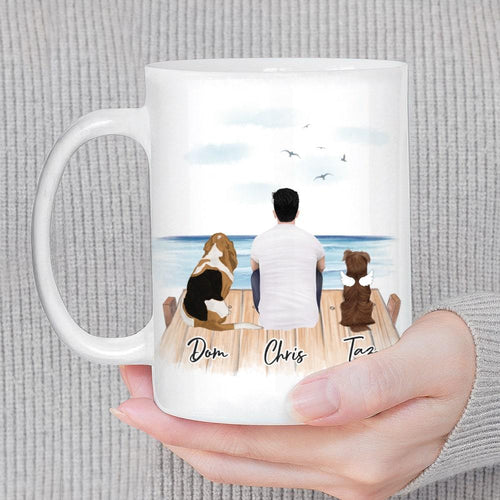 The Dock Personalized Pet & Owner Coffee Mug Mug Gooten