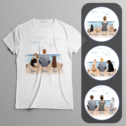 The Dock Personalized Pet & Owner T-Shirt Gooten