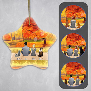 The Fall Star Ornament - Personalized Pet & Owner Ornament Gooten