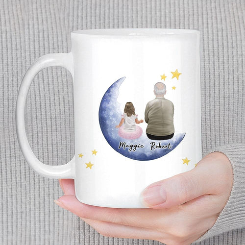 The Moon & Back Personalized Family Coffee Mug Mug Gooten