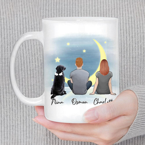 The Moon Personalized Pet & Owner Coffee Mug Mug Gooten