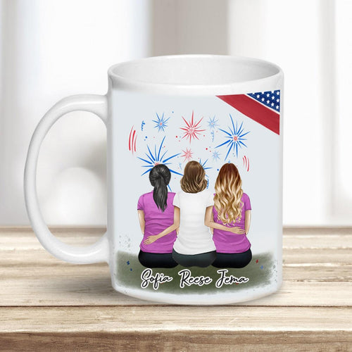 USA Personalized Best Friend Coffee Sister Mugs Mug Gooten