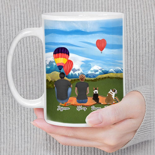 Valentine Day Custom Printed Pet & Owner Coffee Mug Mug Gooten