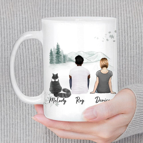 White Mountains Personalized Pet & Owner Coffee Mug Mug Gooten