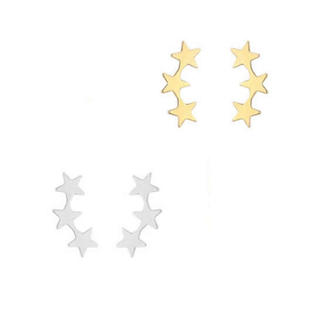 3 Star Stud - Gold, Silver >>>