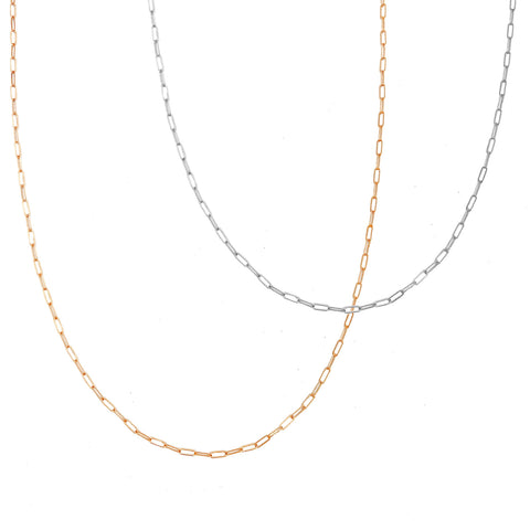 Cara Chain - Gold, Silver, Rose Gold >>