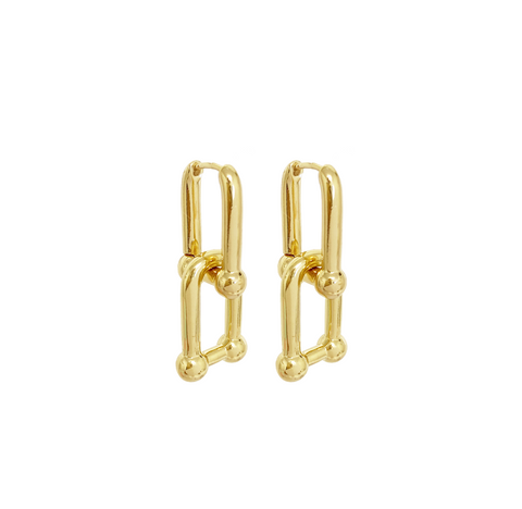 Dillon Tara Chain Link Earring