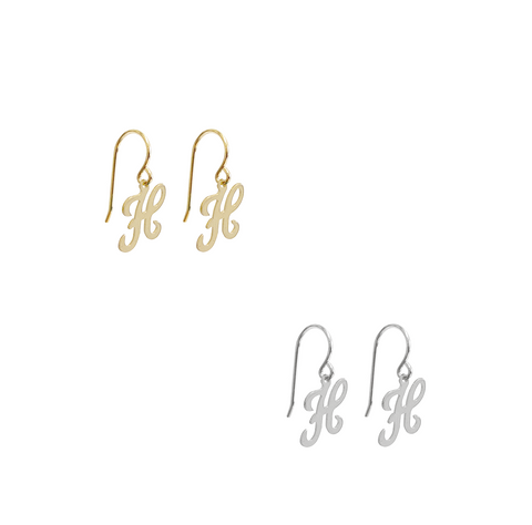 Eden Mini Hoop Earring - Gold, Silver >>