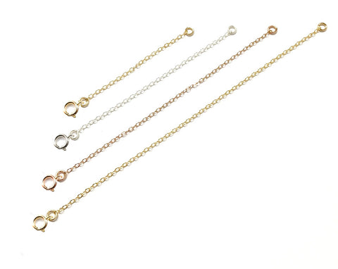 Chain Extensions - Gold, Silver, Rose >>